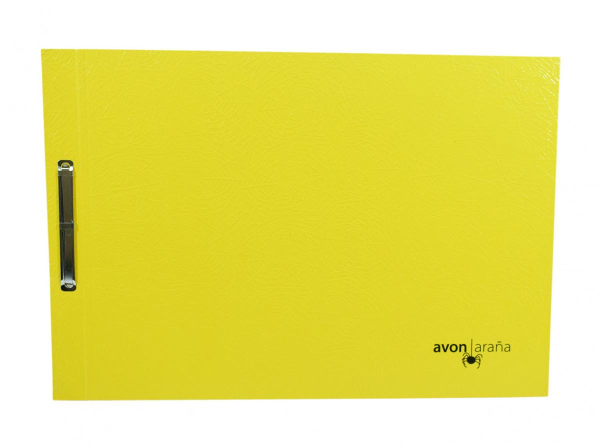 Carpeta para dibujo nro 3 arana amarillo