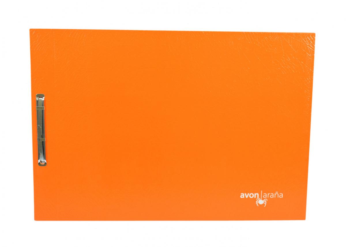 Carpeta para dibujo nro 3 arana naranja