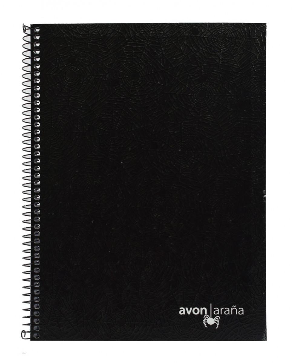 Cuaderno univ. tapa dura arana 96 hojas 1 rayas