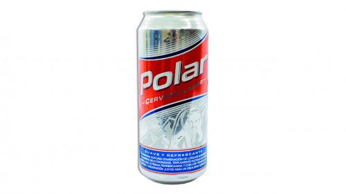 Cerveza POLAR lata 473 ml.