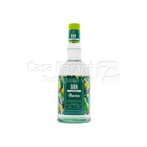 Bebida con alcohol Ron fortin limon 750ml