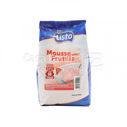 Mousse sabor frutilla de 500g