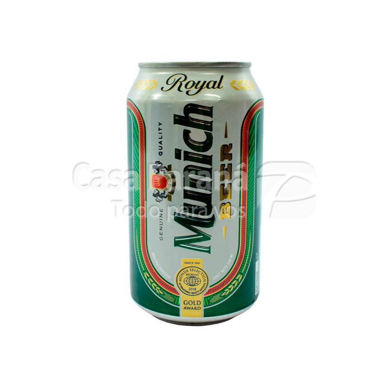 Cerveza MUNICH lata 350 ml.