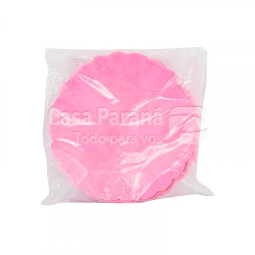bandeja de carton rosado  de 30 unidades