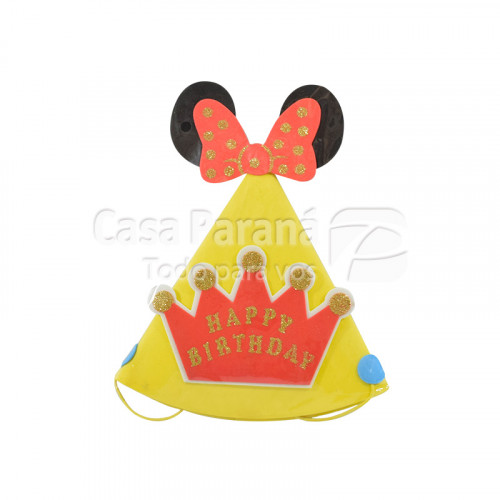 gorro p/ cumpleaños HAPPY BIRTHDAY