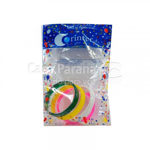 pulsera multicolor de 5 unidades