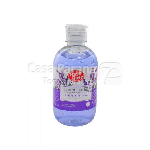 Alcohol en gel Lavanda  350 cc.