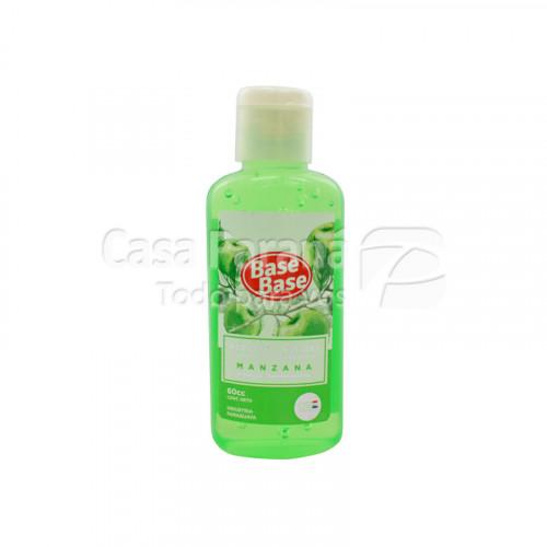 Alcohol en gel Manzana verde 60cc.