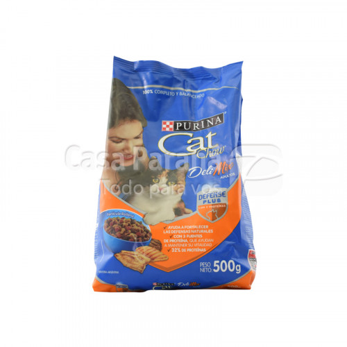 Purina Cat Chow Deli Mix adulto de 500gr.
