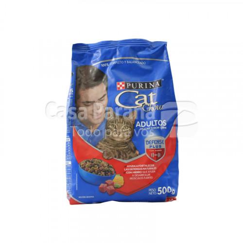 Purina Cat Chow Delicias sabor carne adulto de 500gr.