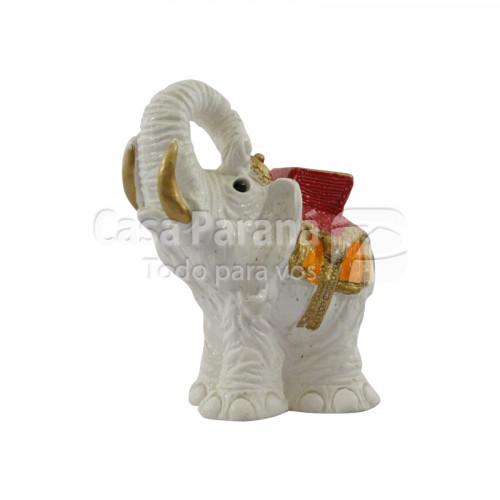 Porta Incienso porcelana elefante mediano