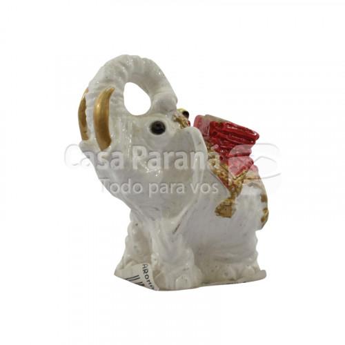 Porta Incienso porcelana elefante