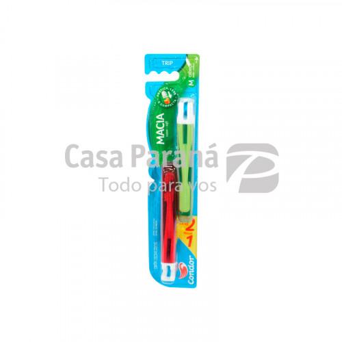 Cepillo dental con blister de 2 unidades