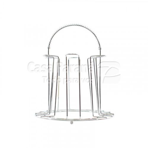Porta vaso de metal