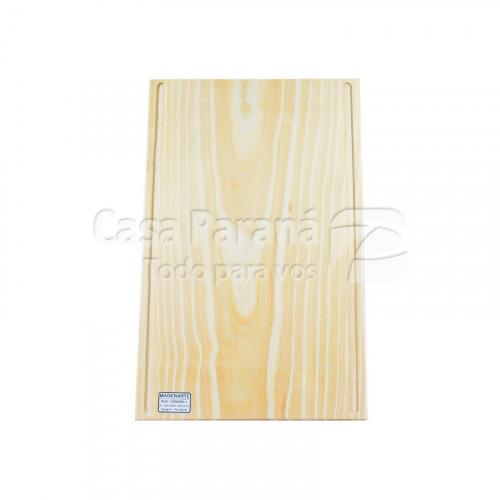 Tabla de madera para asado de 45x30