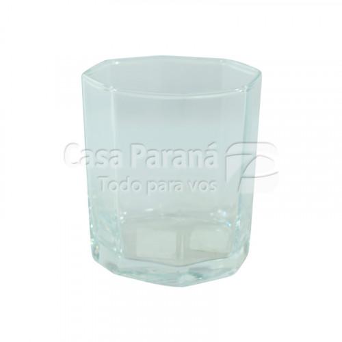 Vaso de vidrio para whisky