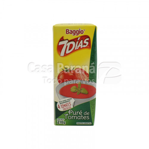 Puré de tomate de 210gr