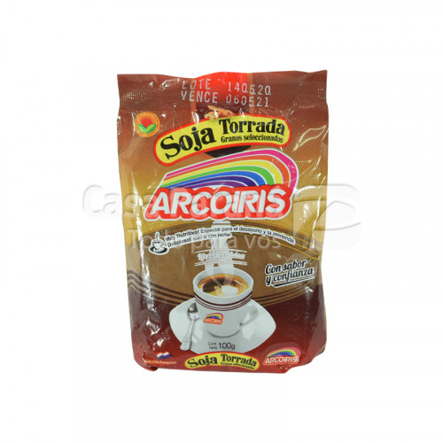 Soja torrada en paquete de 100gr