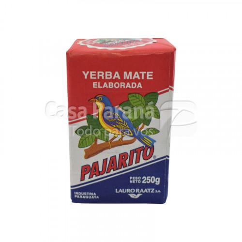 Yerba mate elaborada en paquete de 250gr
