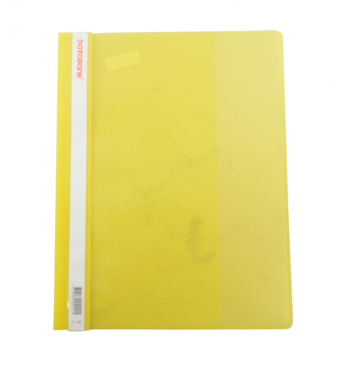 Carpeta plastica transparente color amarillo