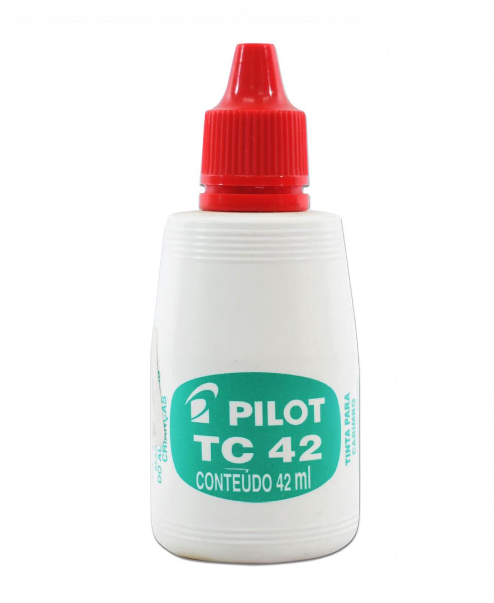 Tinta p/almohadilla rojo 42 ml.