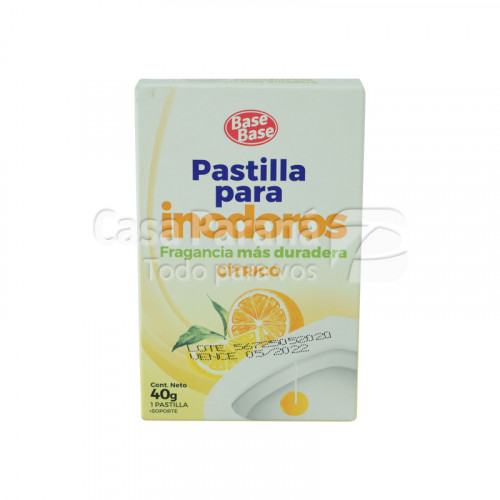 Pastilla para inodoro frutal citrico