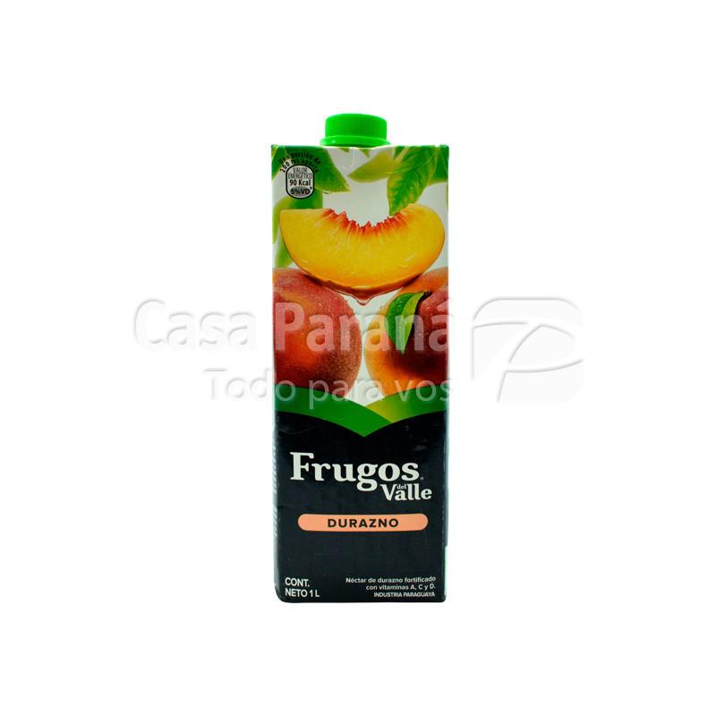 Jugo FRUGOS durazno treta pack 1 lts.