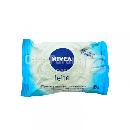 Jabon de tocador hidratante de leche de 90 gr