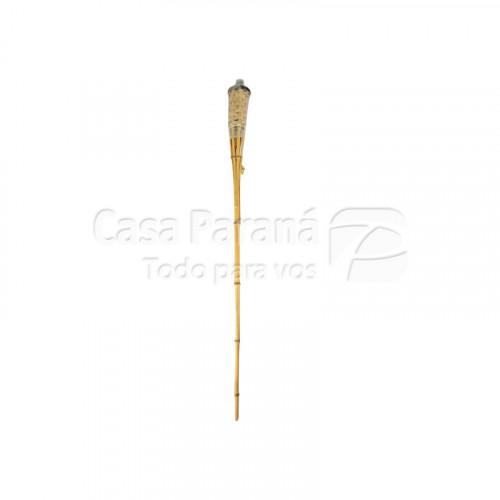 Antorcha de bambu