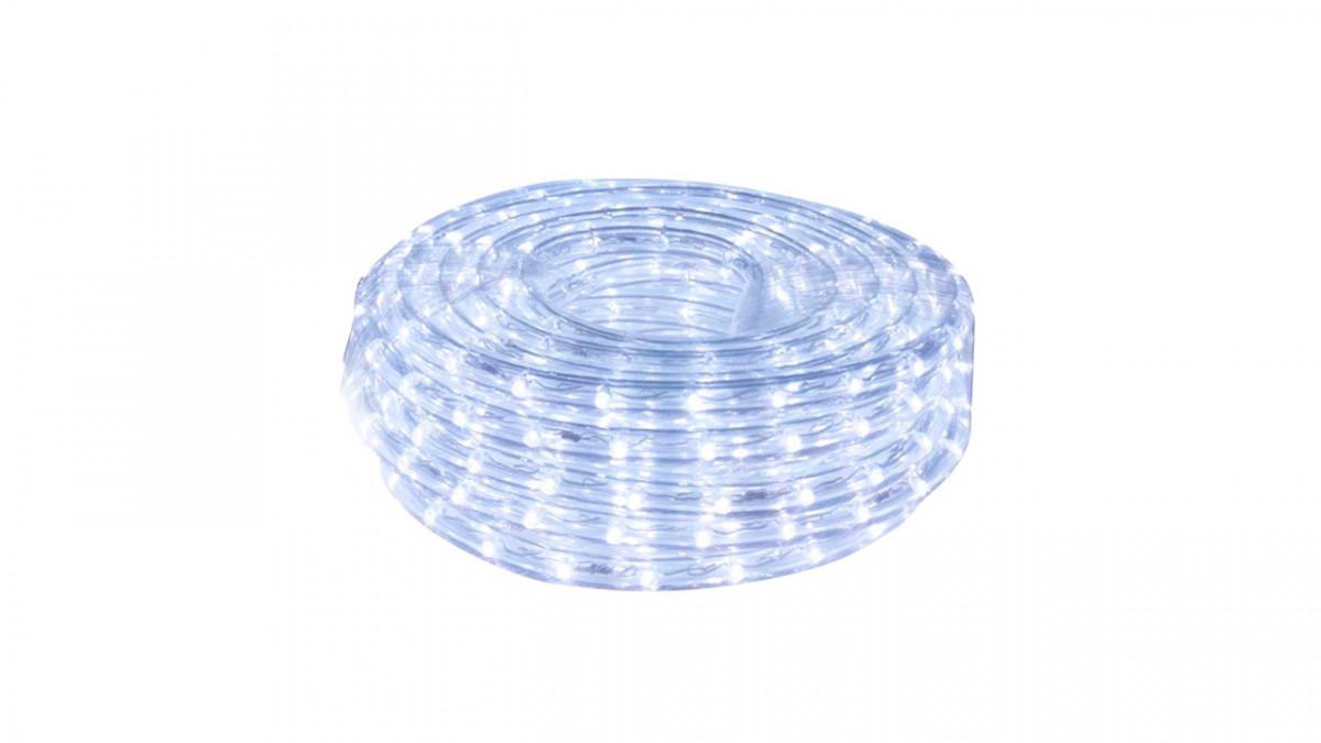 Foquito manguera transparente de 10 mts, luz colorida.