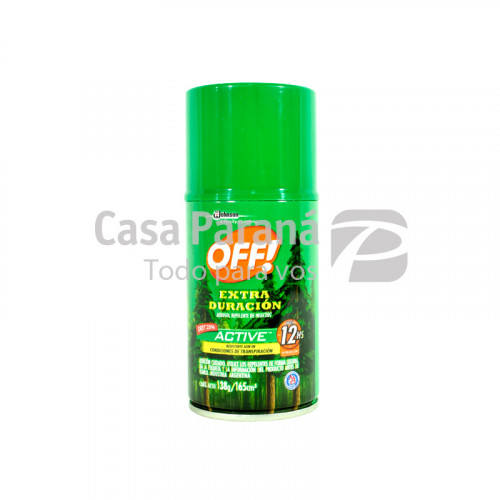 Repelente de insectos en aerosol 165