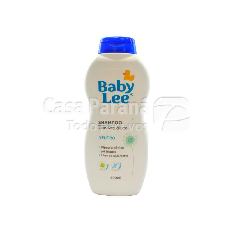 Shampoo neutro de 400 ml