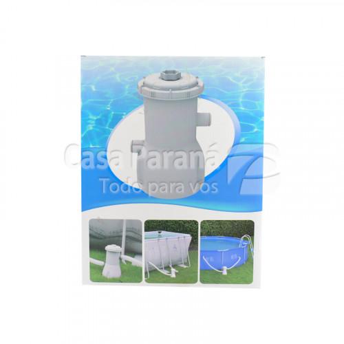 Filtro para piscina con capacidad hasta 3028lts