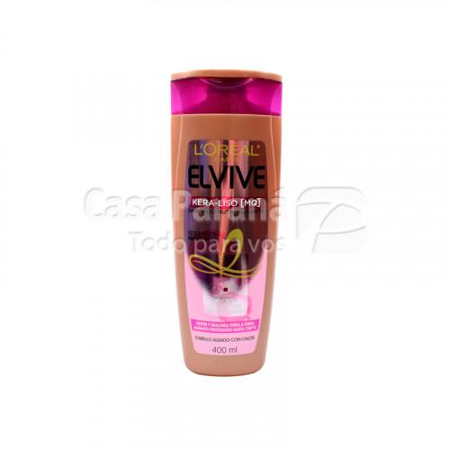 Shampoo kera liso nutri alisante de 400 ml