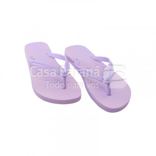 Zapatilla para dama color lila, rosa, calce del 35 al 38