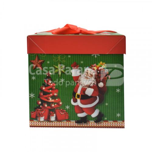 Caja de regalo navideño diseño varios