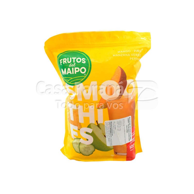 Bebida smoothie amarillo 500 gr