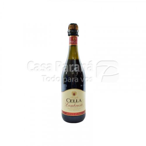 Vino Lambrusco con corcho de 750ml