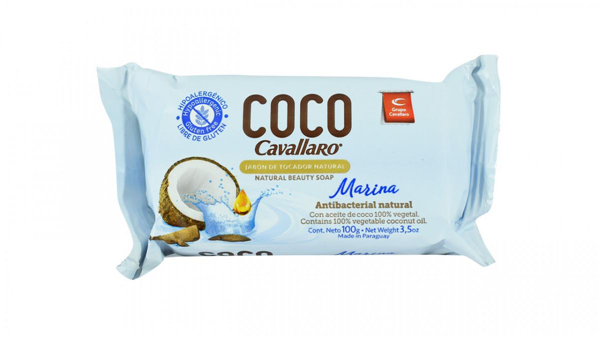 Jabon de Coco 100gr Marina 1pz