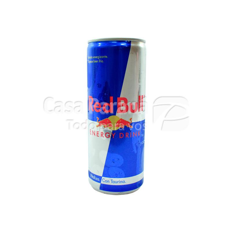 Bebida energizante RED BULL en lata 250 ml.