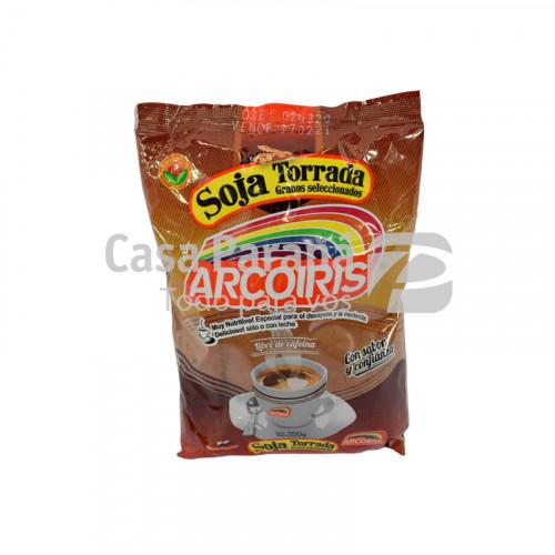 Soja torrada en paquete de 250gr.