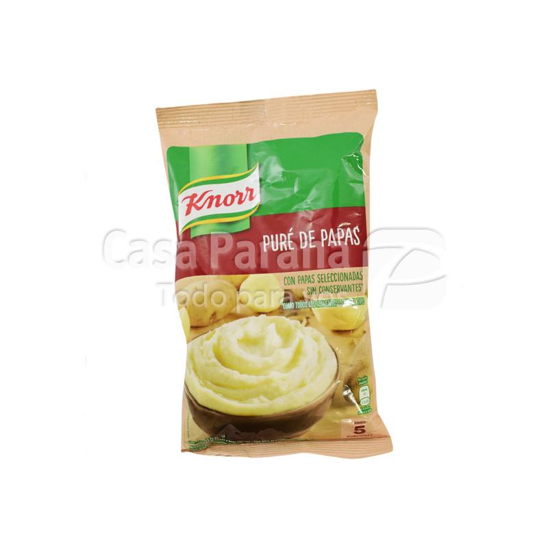 Pure de papas en paquete de 125gr.