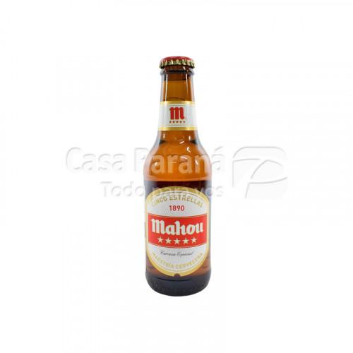 Cerveza Mahou Cinco estrellas de 220ml