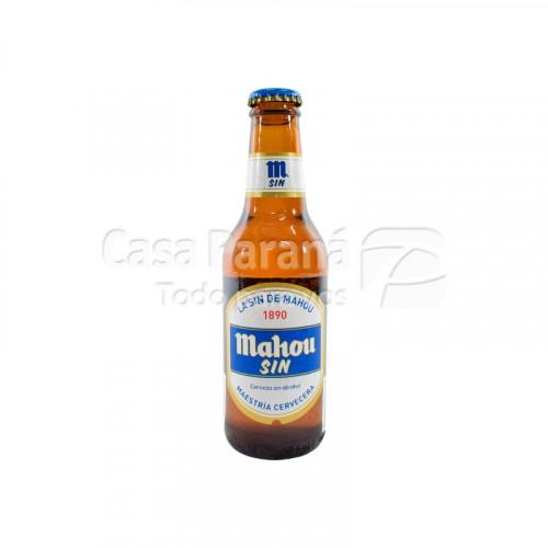 Cerveza Mahou sin alcohol de 220ml