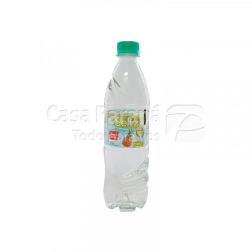 Agua mineral saboriza piña de 500 ml
