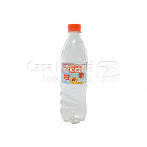 Agua saborizada durazno de 500 ml