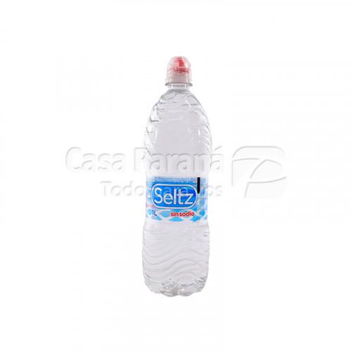 Agua mineral sin sodio de 1 litros