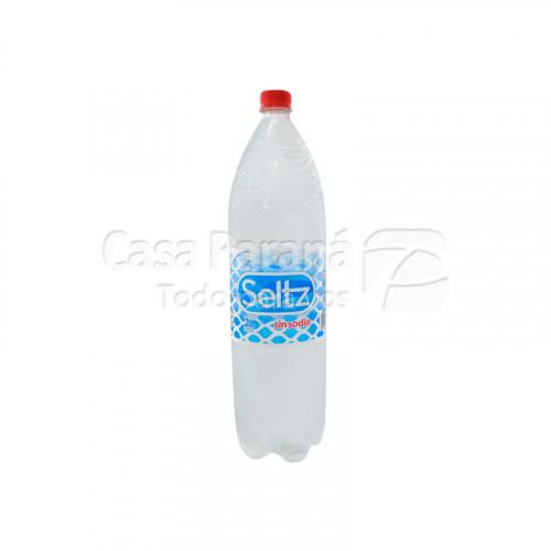 Agua mineral sin gas de 2 litros