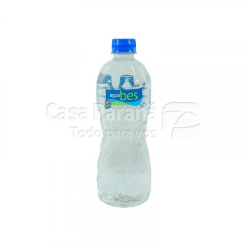 Agua mineral sin gas de 625 ml