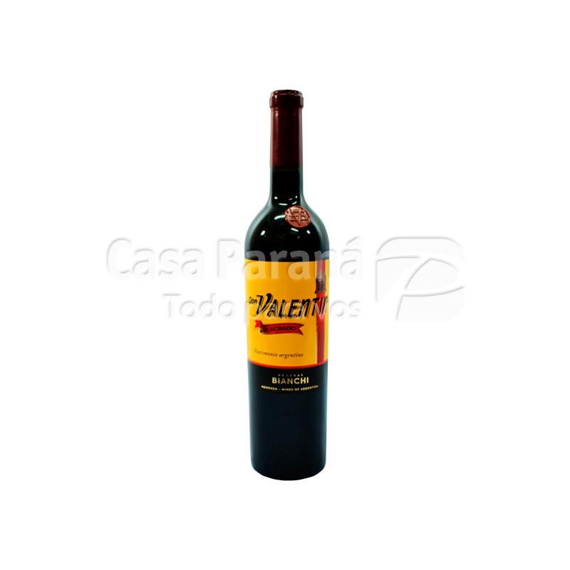 Vino DON VALENTIN lacrado en botella 750 ml.